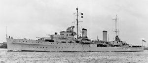 HMAS Perth I, July 1939.
